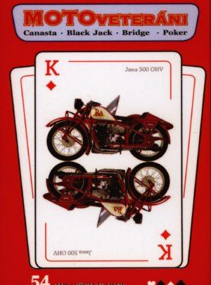Kanastové karty Moto veteráni