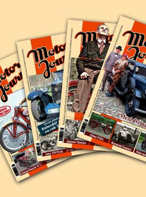 Motor Journal ročník 2008 neúplný