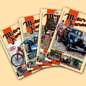 Obsah Motor Journalu ročníku 2006