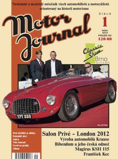 Motor Journal 1/2013
