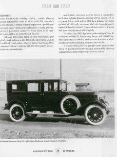 Auta první republiky 1918 – 1938
