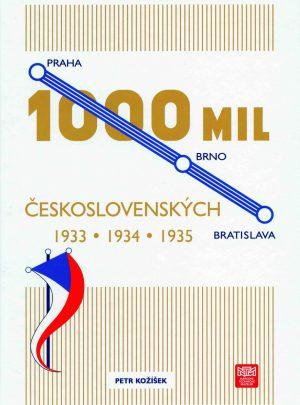 1000 mil československých 1933, 1934, 1935