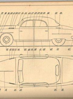 Seznam náhradních dílů vozu Škoda VOS (originál)