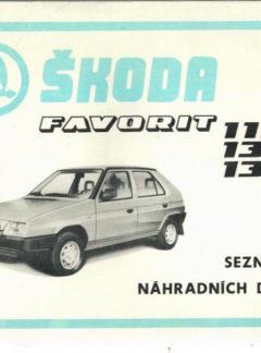 Škoda Favorit 115-135-136 (originál)