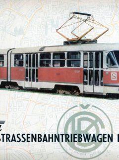 Tatra Gelenkstrassenbahntriebwagen K2
