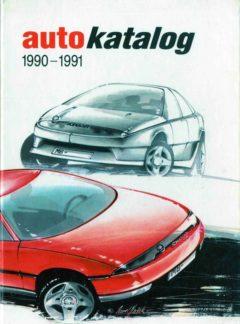 Auto katalog 1990 – 1991