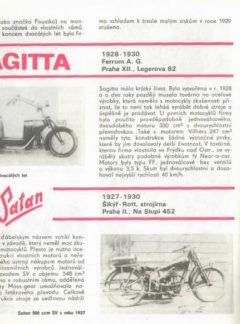 Pražské historické motocykly