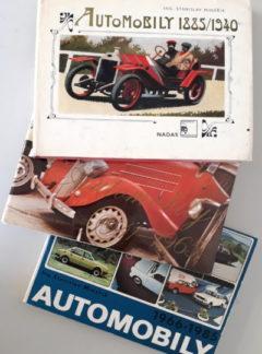 Automobily 1885/1940,1941/1965,1966/1985