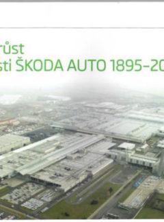 Stavební růst společnosti ŠKODA AUTO 1898–2015