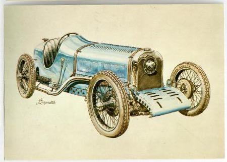 Čs. závodní a sportovní automobily 1900-1950