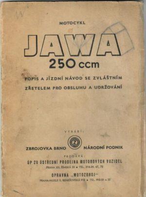Motocykl Jawa 250 ccm