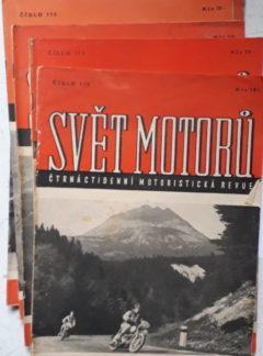 Svět motorů 1951, čísla 112 – 118