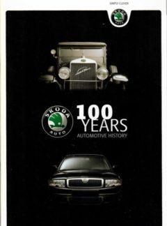 Škoda Auto – 100 years Automotive History