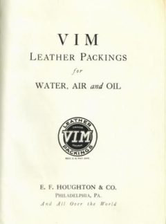 VIM Leather Packings for Water, Air and Oil