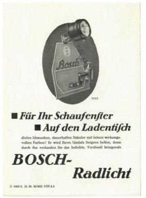 Bosch Radlicht
