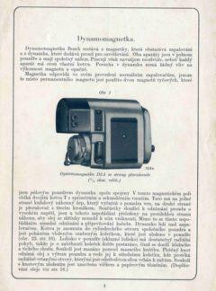 Dynamomagnetka Bosch D2A