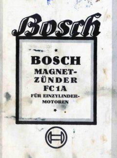 Bosch magnetzünder FC1A für einzylinder motoren
