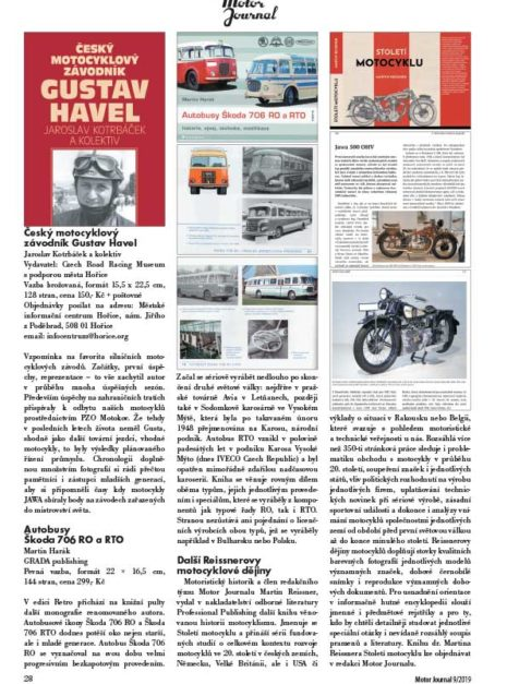 Motor Journal knihy