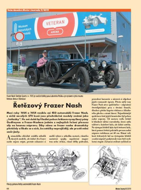 Motor Journal Frazer Nash