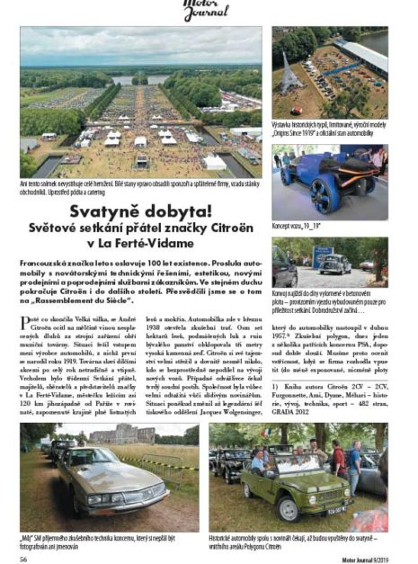 Motor Journal Citroen