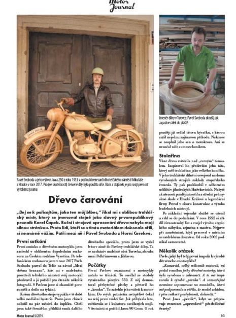 Motor Journal Jawa pérák