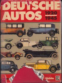Deutche autos 1920 – 1945