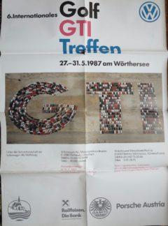VW Golf Gti Treffen Wörthersee 1987