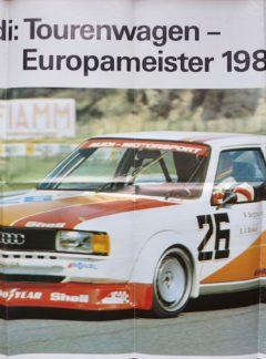 Audi Tourenwagen Europameister 1980