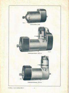 Bosch Licht und Anlasser für Kraftfahrzeuge
