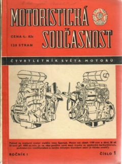 Motoristická současnost 1955 číslo 1