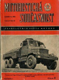 Motoristická současnost 1955 číslo 4