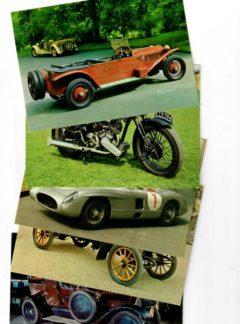 Pohlednice historických vozidel