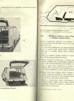 Obsluha a údržba osobního automobilu Wartburg 353