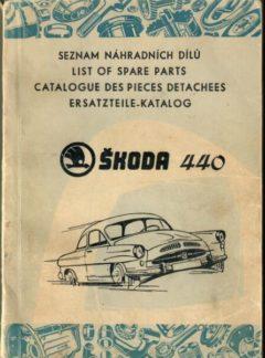 Seznam náhradních dílů Škoda 440