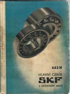 Hlavní ceník SKF s dodatkem 443M