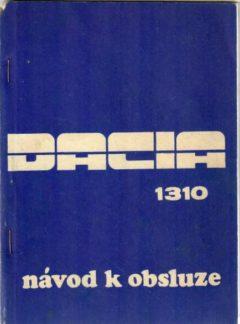 Dacia 1310 návod k obsluze