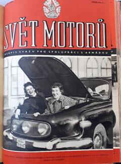 Svět motorů 1956