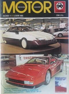 Motoristická současnost 1985 + příloha 1 a 2