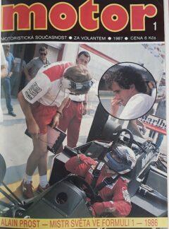 Motoristická současnost 1987 + příloha 1 a 2