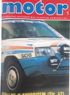 Motoristická současnost 1989 + příloha 1 a 2