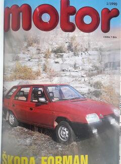 Motoristická současnost 1990
