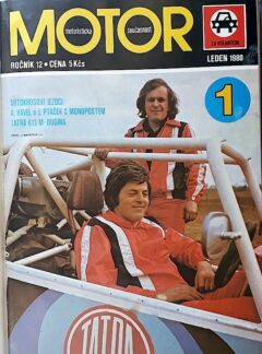 Motoristická současnost – za volantem 1981