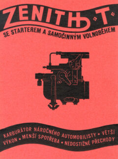 Karburátor Zenith T