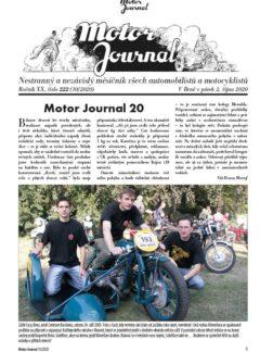 Motor Journal 10/2020