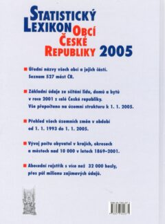 Statistický lexikon obcí České republiky 2005