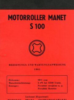 Motorroller Manet S100