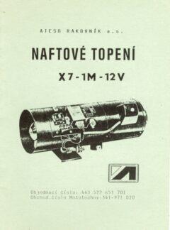 Naftové topení X7-1M