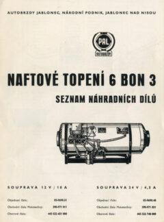 Naftové topení 6 BON 3