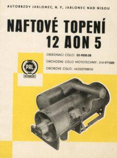 Naftové topení 12 AON 5