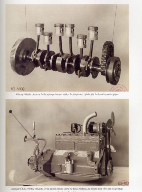 Historie motorů LaK a Škoda 1003